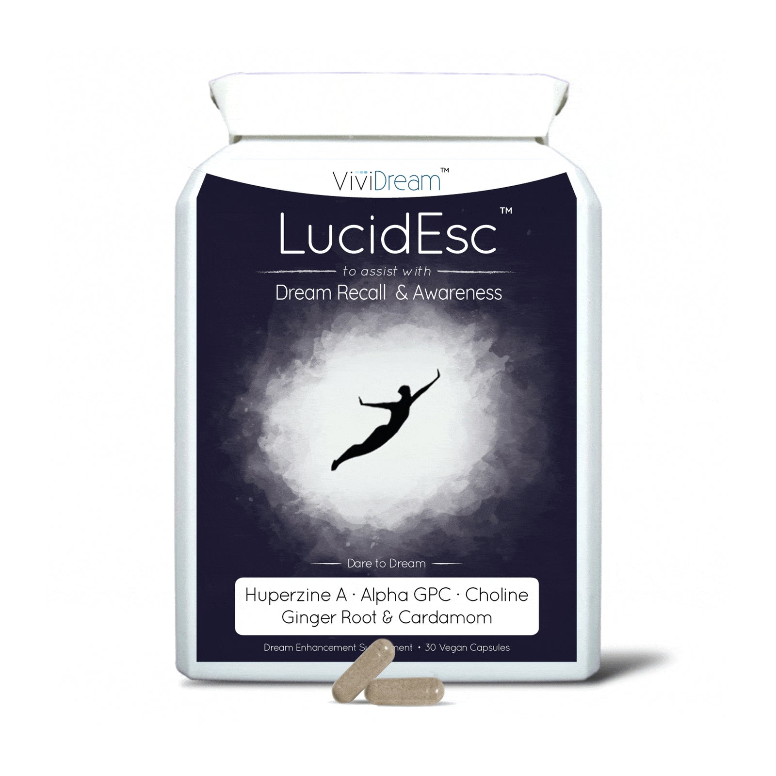 LucidEsc | Lucid Dreaming Supplement Pills (30 vegan caps)