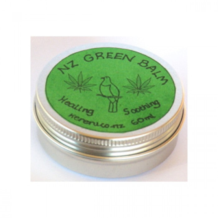 NZ Green Balm - Hemp Soothing & Healing Balm