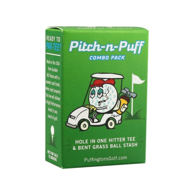 Pitch and Puff - Golf Combo Pack