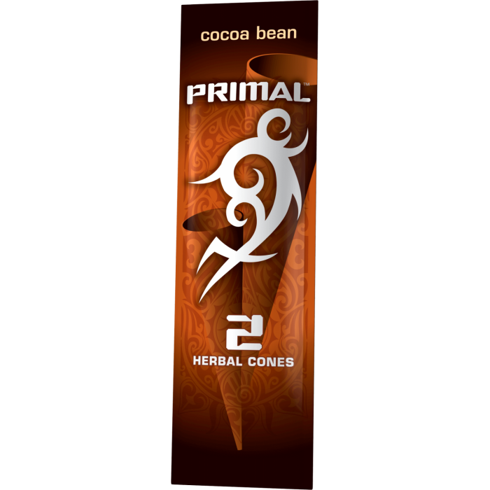 Primal - Cocoa Bean Herbal Cones (2 pack)