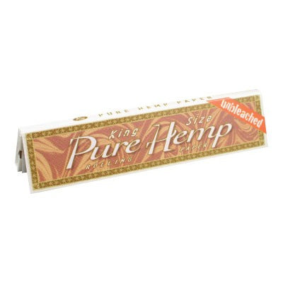 Pure Hemp Unbleached Kingsize Rolling Papers