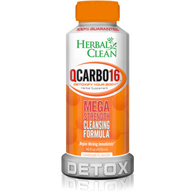 Herbal Clean QCarbo Detox 16 oz. (Herbal Clean)