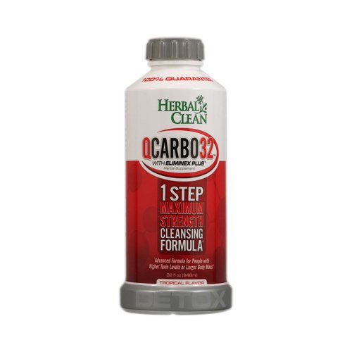Herbal Clean QCarbo32 One-Step Same-Day Detox Drink - 32 oz.