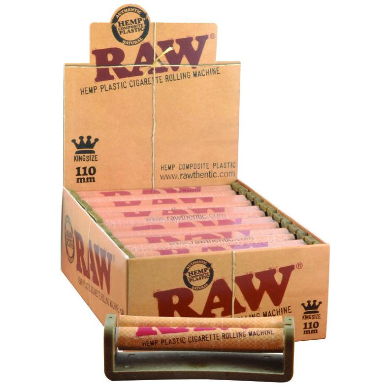RAW Hemp Eco-Plastic Rolling Machine - 110mm KingSize