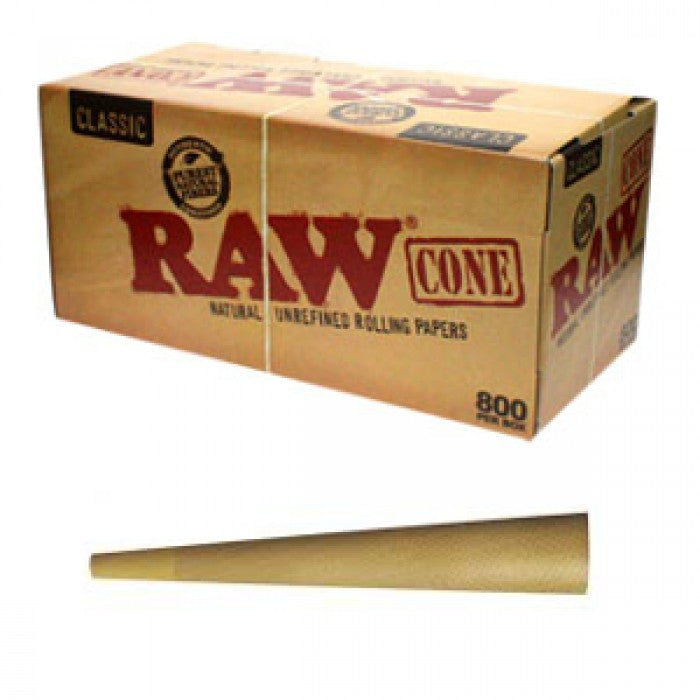 Raw Cones - Box of 800 Pre-Rolled Cones