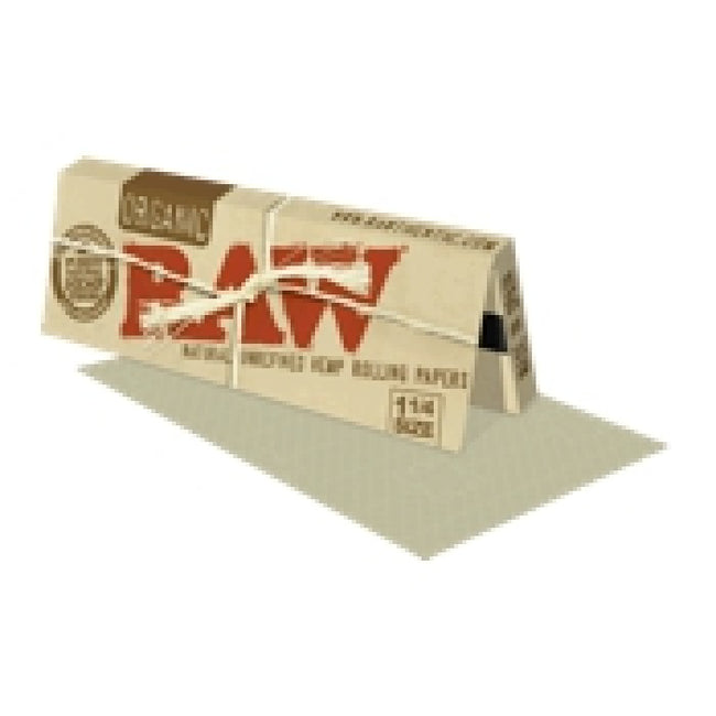 Raw Organic (1 1/4 size) Hemp Rolling Papers