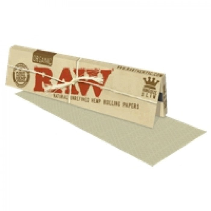 Raw Organic (King-Size Slim) Hemp Rolling Papers
