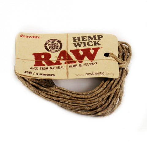 RAW Hemp Wick (4m/13ft)