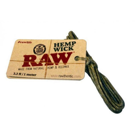 RAW Hemp Wick (1m, 3.3ft)