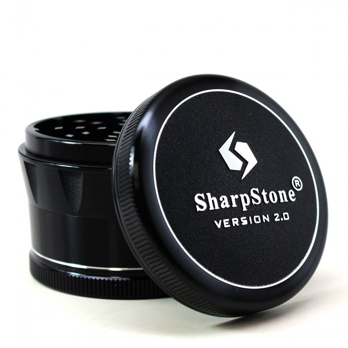SharpStone® 2.0 Hard Top Black Grinder (4 piece)