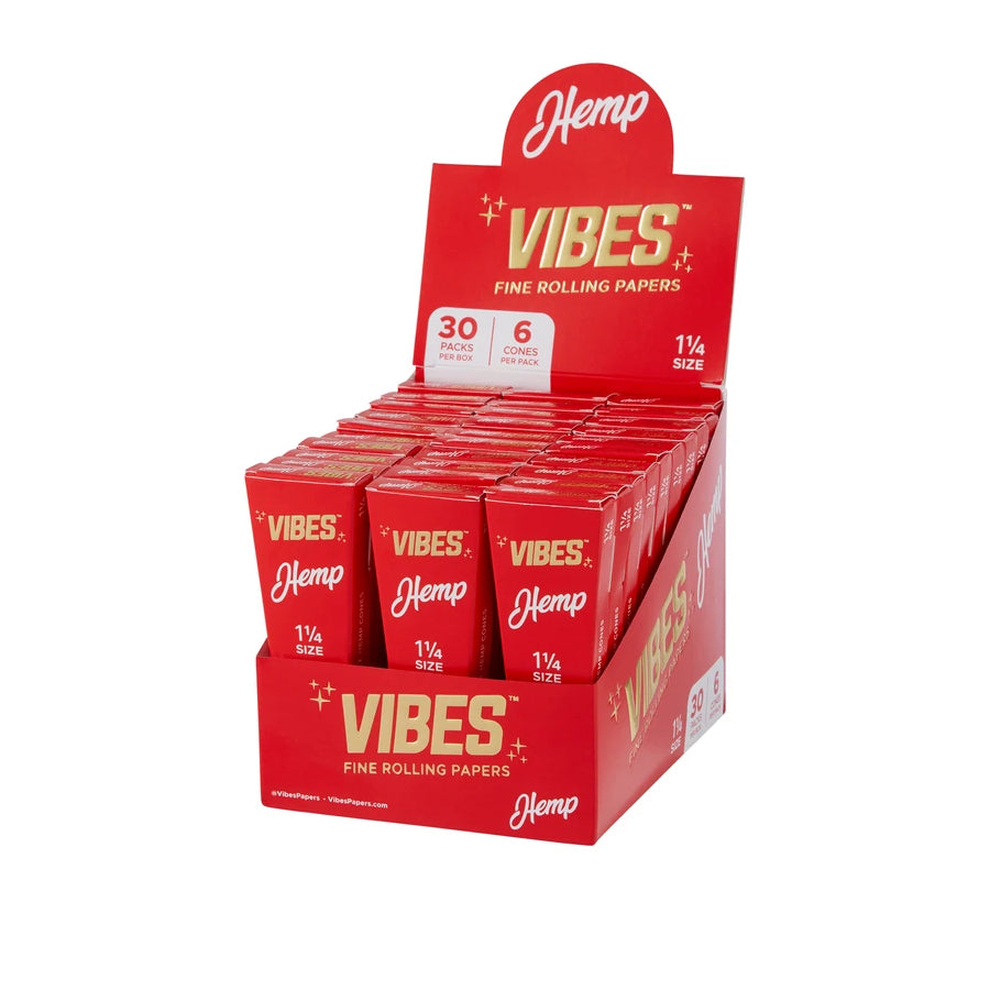 Vibes Cones - 1 1/4 size - 6 pack