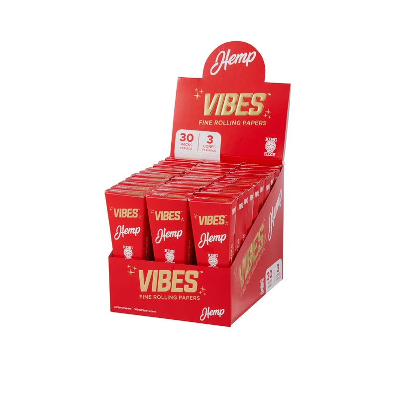 Vibes Cones - Kingsize - 3 pack