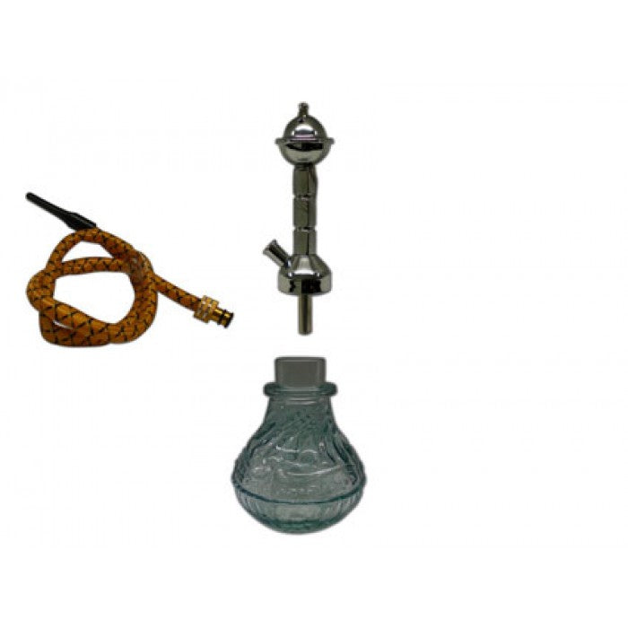 Water-Pipe - Mini Hookah Pipe - with Single Hose (approx 220mm)