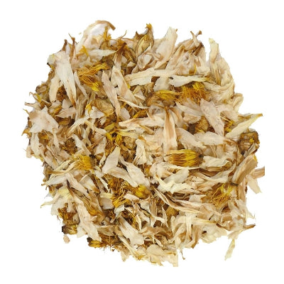 White Lotus (20 gram) (Nymphaea ampla) Organic Shredded White Lotus Petals