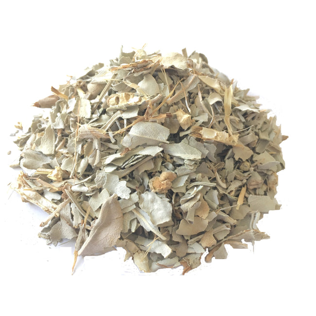 White Sage (Salvia apiana) (20 gram) dried shredded leaves