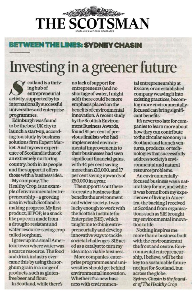 Investing in a greener future