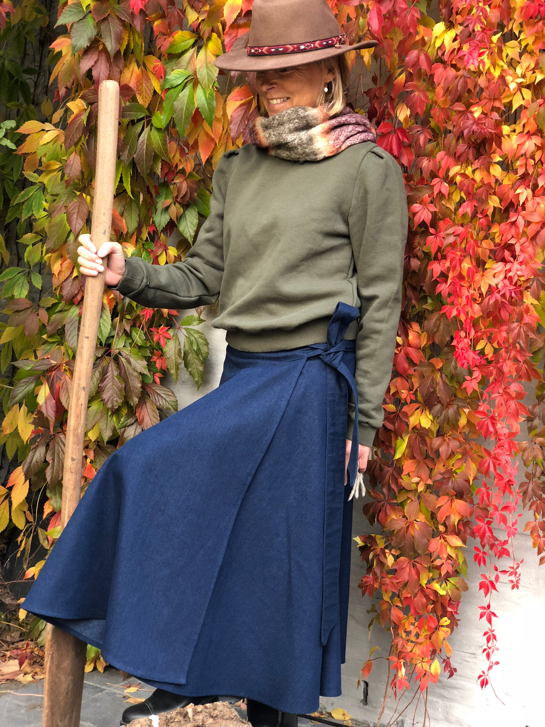 Season Tree Jeans Skirt