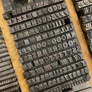 16pt Ornamented type plus other type