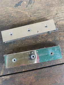 A pair of Stephenson Blake Galley Magnets