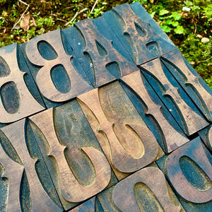 "18 Line (3"") Ornamented Wood Type"