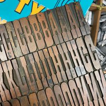 De Little No 62 - Wood Type