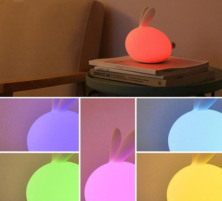 Veilleuse cocooning Lapin USB