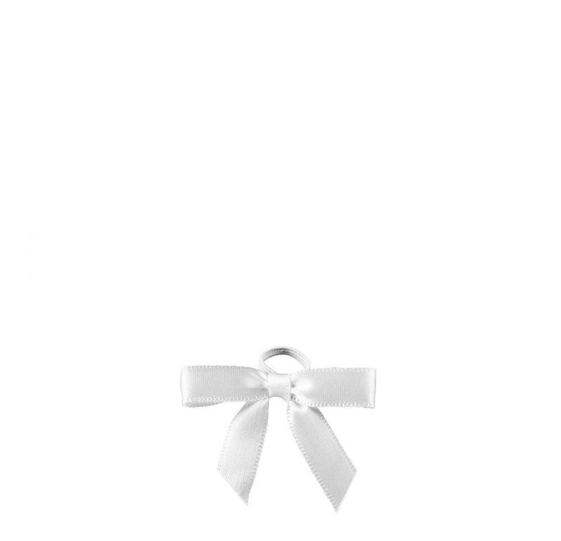 White Silk Ribbon