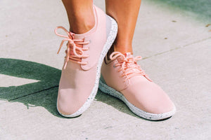 SEMNOZ II ROSE GOLD, Sustainable shoes, casual, cute - SAOLA SHOES