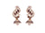 Asmitta Jewellery Purple Zinc Jhumki Earring - EJ936
