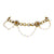 Asmitta Jewellery Gold Zinc Anklet (Pack of 2) -AN102