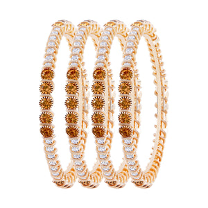 Asmitta Jewellery Gold Set Of 4 Bangles  -BG133
