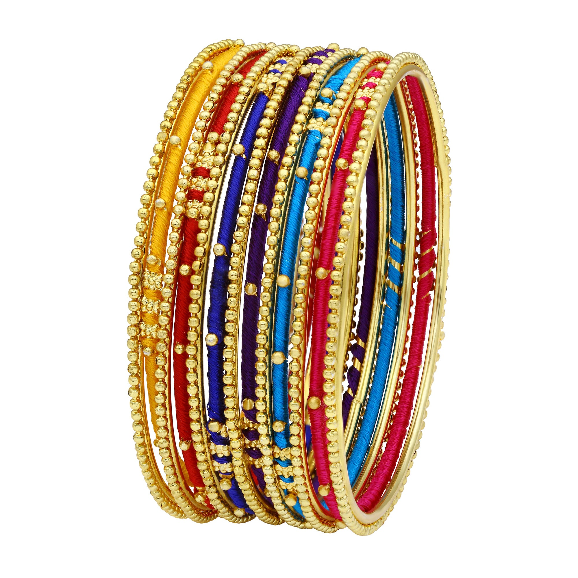 Asmitta Jewellery Gold Alloy Bangle Set -BG141