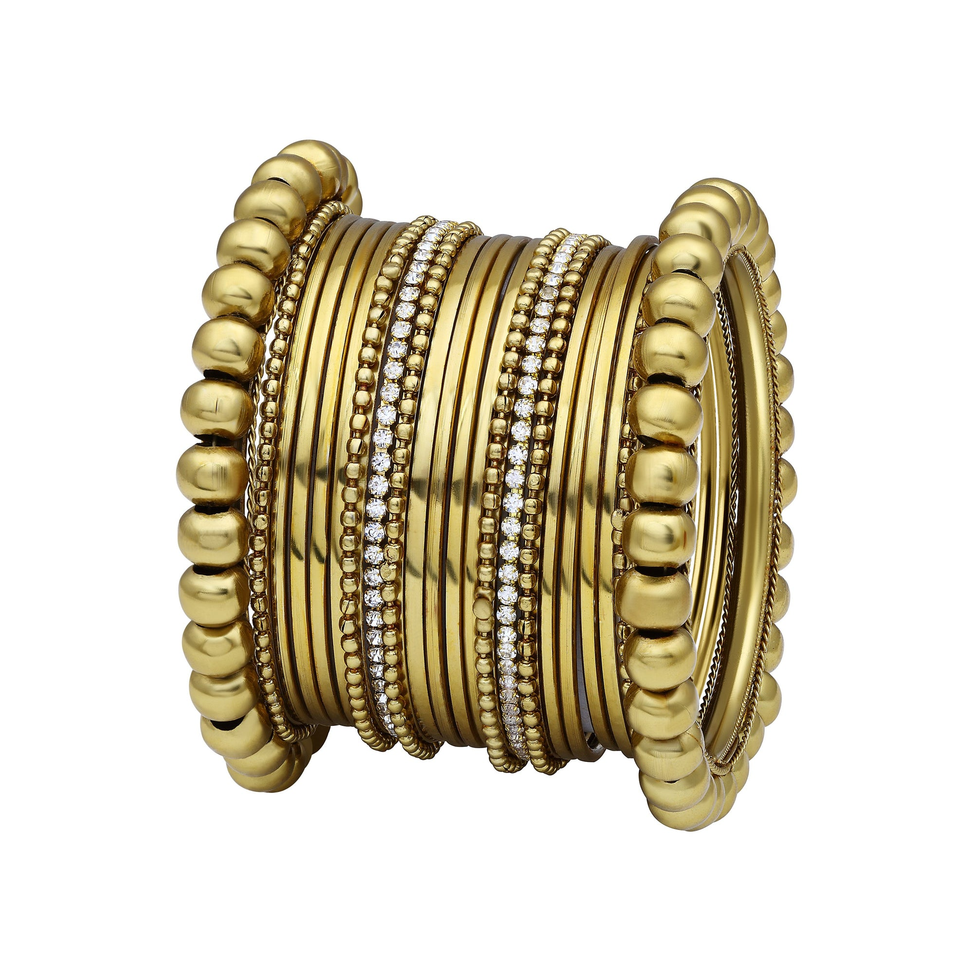 Asmitta Jewellery Gold Alloy Bangle Set -BG143