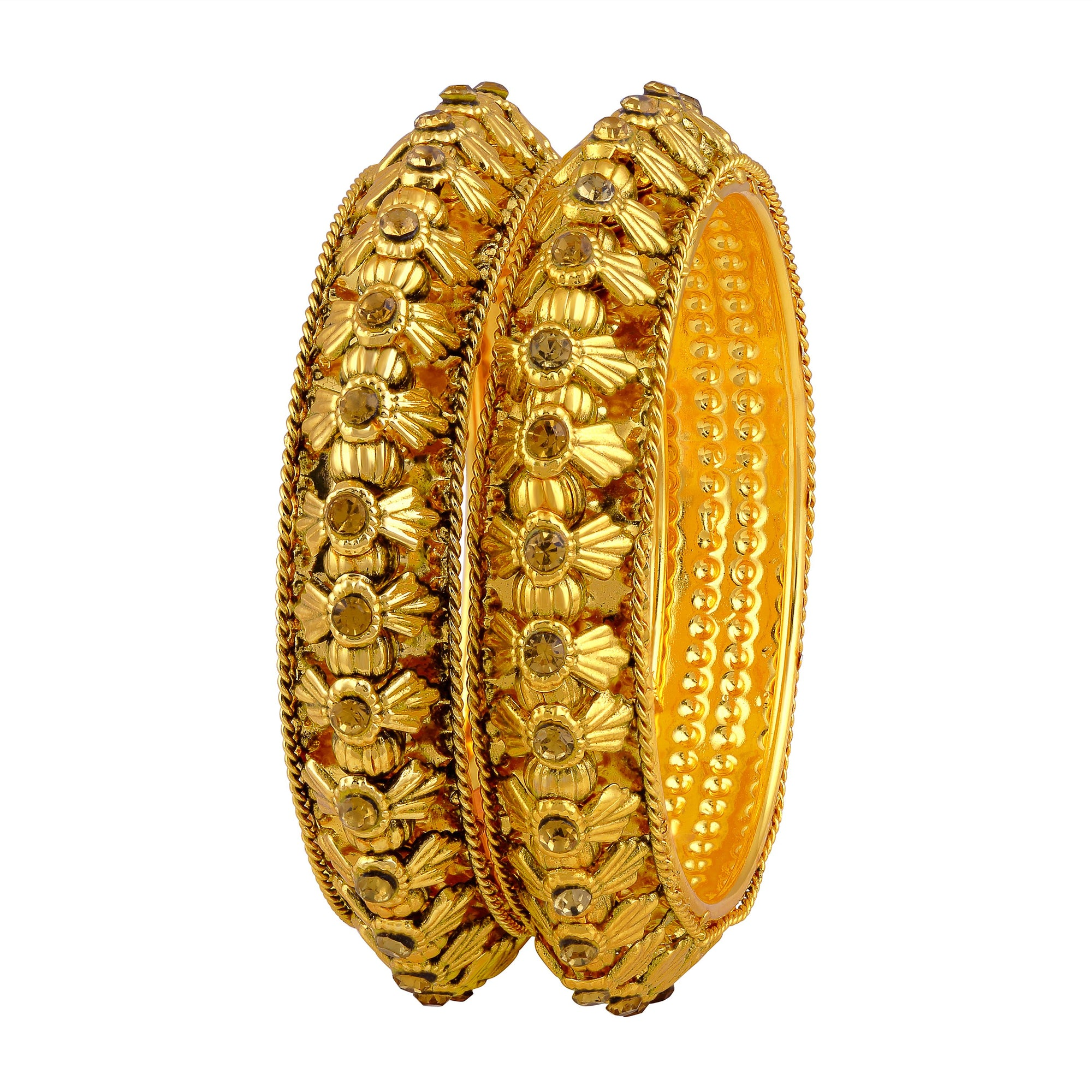 Asmitta Jewellery Gold Bangles  -BG210