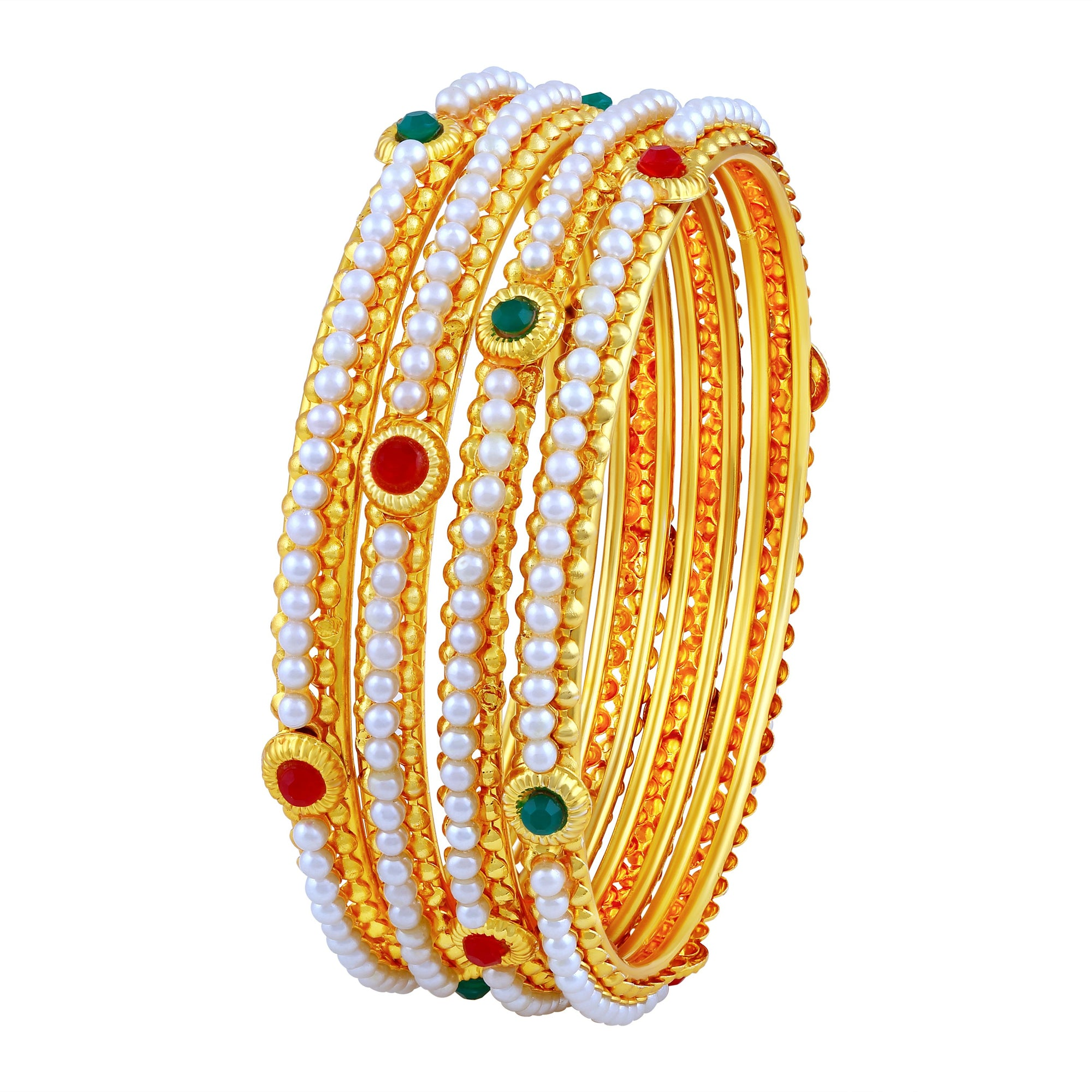Asmitta Jewellery Gold Bangle Set  -BG213