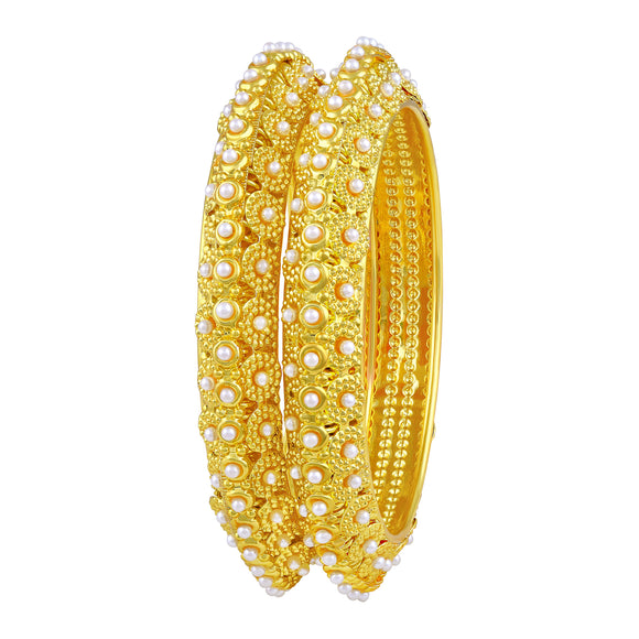Asmitta Jewellery Gold Bangle Set  -BG216