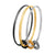 Asmitta Jewellery Zinc Gold- Bangle Set (Pack of 3) -BG234