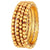 Asmitta Jewellery Brass Gold Set of 4 Bangle Set  -BG285