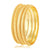 Asmitta Jewellery Gold Set Of 4 Brass Bangle Set  -BG288