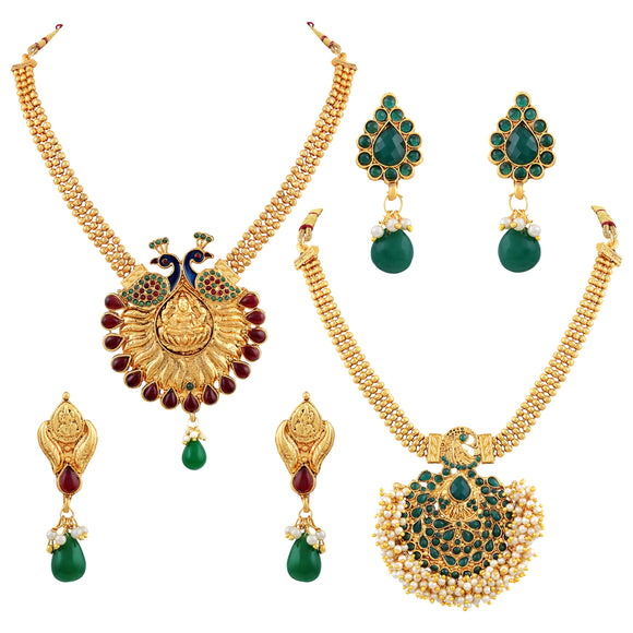 Asmitta Jewellery Zinc Jewel Set (Multicolor) -CB138