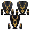 Asmitta Jewellery Zinc Jewel Set (Gold) -CB205
