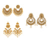 Asmitta Jewellery Gold Zinc Earring Combo - CB259