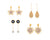 Asmitta Jewellery Gold Alloy Earring Combo - CB264