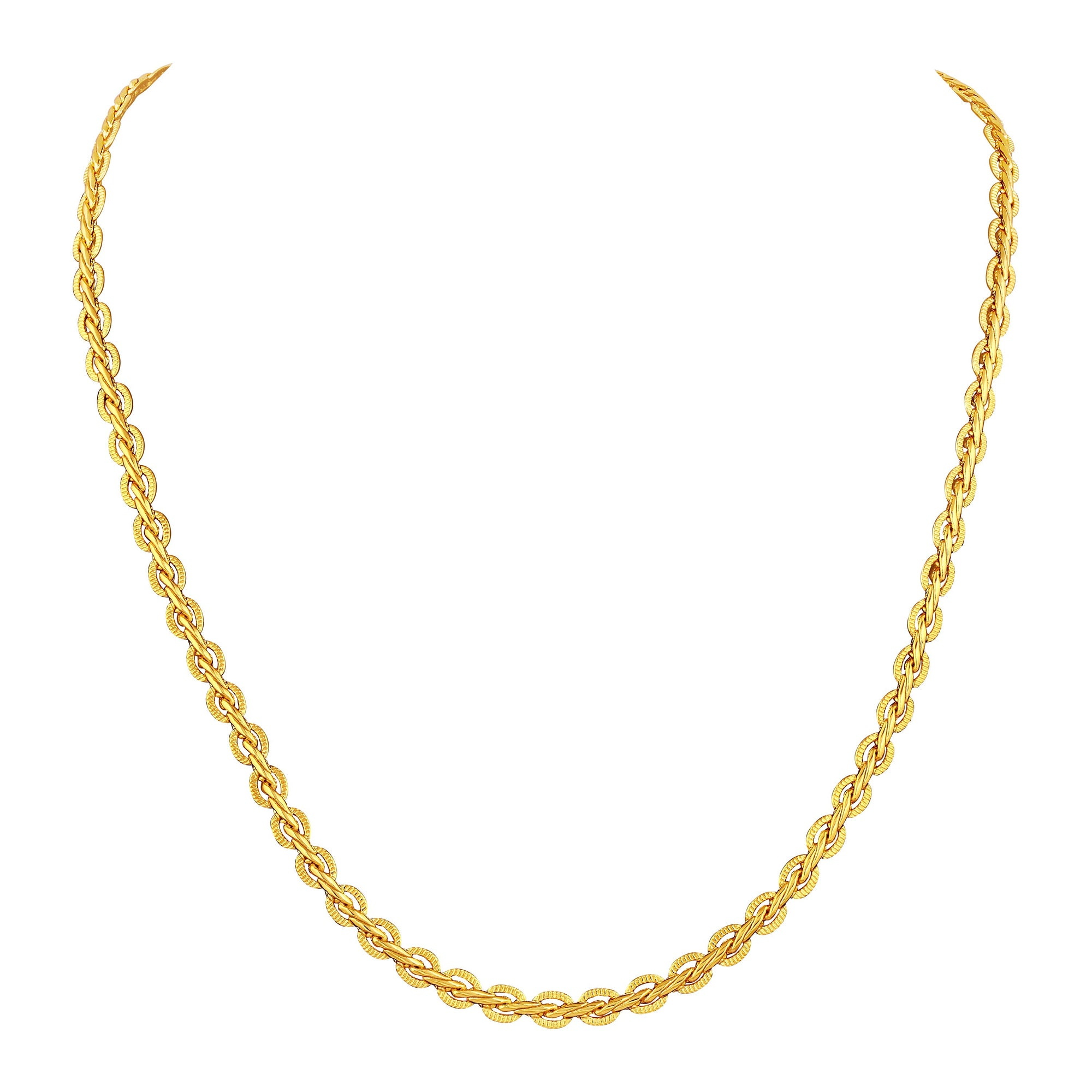 Asmitta Jewellery Chain For Unisex Gold-Copper Chain  -CH105