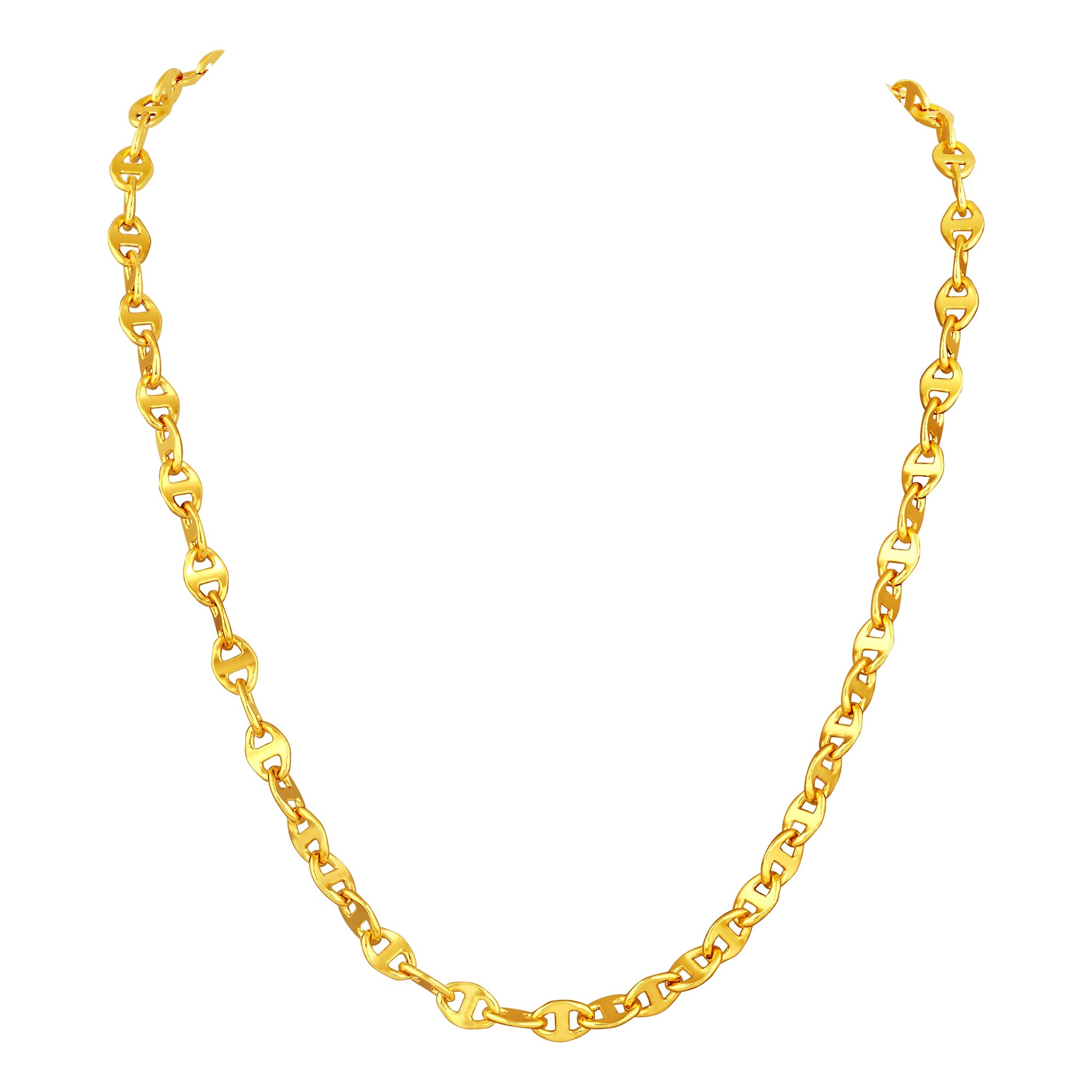 Asmitta Jewellery Gold Men Copper Chain  -CH112