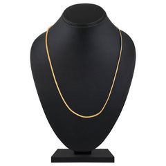 Asmitta Lavish Party Wear Gold Plated Chain For Unisex