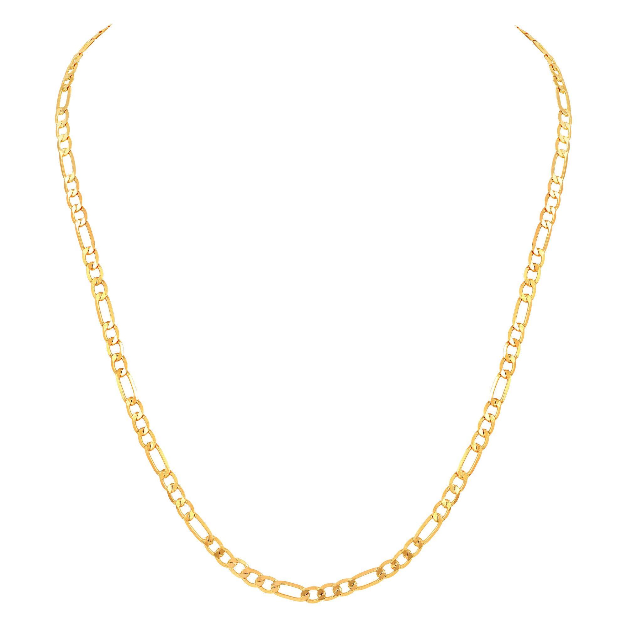 Asmitta Jewellery Brass Gold  Chain For Men Gold-  Brass Chain  -CH118