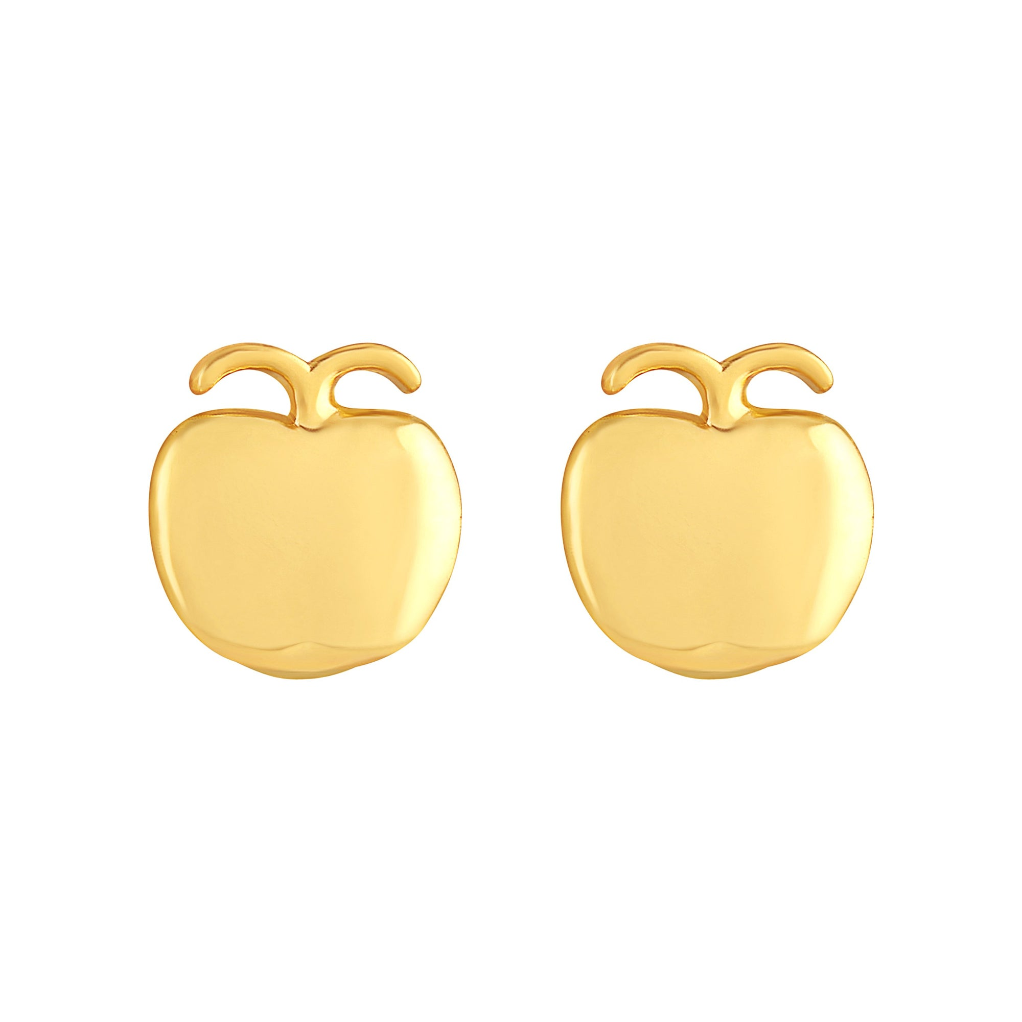 Asmitta Jewellery Bali Gold Brass Hoop Earring  -EB144