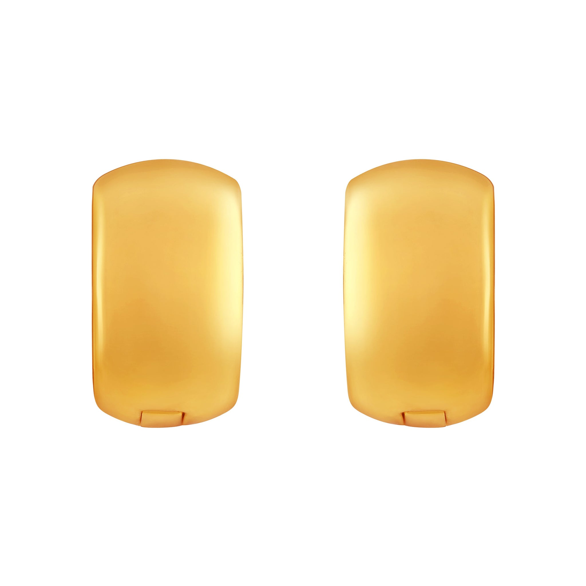 Asmitta Marquise Bali Hoop Gold Plated Earring For Women