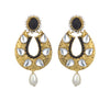 Asmitta Jewellery Gold Zinc Dangle Earring - ED106
